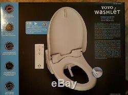 Toto Washlet Easy Install Electronic Elongated Bidet Toilet Seat T1SW2024 OPENED