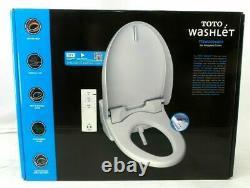 Toto Washlet T1SW2024#01 Electronic Bidet w Heated Seat for Elongated Toilets
