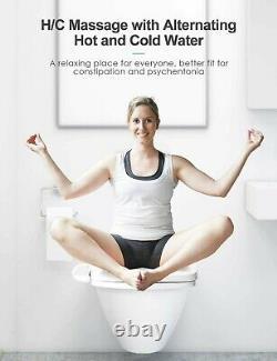 UFFU Bidet Electric Toilet Seat with Control Panel Smart Heated Elongated C200e