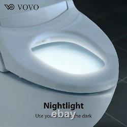 VOVO VB4100SR WATERJET White LED Nightlight Bidet Seat Eco Friendly Power Save