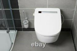 VOVO VB4100S Wash & Dry Smart Toilet Bidet Seat Remote Control UK