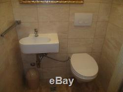 WC-Sitz mit Bidet Funktion Po Dusche für Intimpflege Dusch-WC Toilettensitz