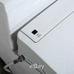 Woodbridge Luxury, Elongated One Piece Toilet with Advanced Bidet Seat, T-0022